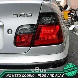 Nouveau Pour Bmw E46 Feux Led 2001-2004 Foncé Ou Led Rouge Arrière Lampes De Qualité