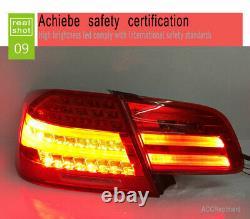 Nouveau Pour Bmw M3 E92 Led Feux Arrière 2011-2013 Dark Or Red Led Rear Lamps Quality