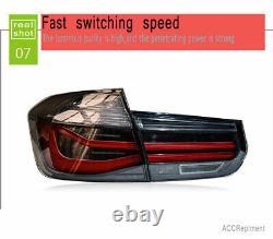 Nouveau Pour Bmw M3 F35 F30 Led Feux Arrière 13-17 Dark Or Red Led Rear Lamps Quality