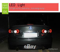 Nouveau Pour Mazda 6 Atenza Feux Led 2003-2008 Led Noir Arrière Lampes Qualité