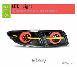 Nouveau Pour Mazda 6 Atenza Led Taillights Dark Led Rear Lamps Quality 2003-2015