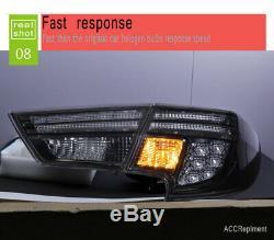 Nouveau Pour Toyota Mark X Feux Led 14-18 Noir Ou Led Rouge Arrière Lampes De Qualité