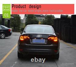 Nouveau Pour Volkswagen Jetta Feux Led 11-14 Noir Ou Led Rouge Arrière Lampes De Qualité