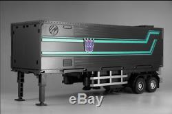 Nouveau Transformers Mp-10b Dark Optimus Prime Avec Compartiment