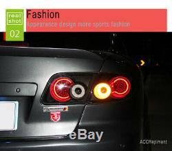 Nouvelle Mazda 6 Atenza Feux Led 2003-2008 Led Noir Lampes Arrière Qualité