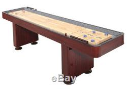 Nouvelle Table De Jeu De Shuffle Indoor Cerise Foncé De Qualité Supérieure De 12 Pi