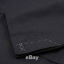 Nwt $ 4195 Costume Oxxford Highest Quality Essential Uni En Laine Gris Foncé 38 R