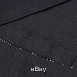 Nwt $ 4195 Costume Oxxford Highest Quality Essential Uni En Laine Gris Foncé 44 R