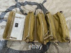 Nwt Filson Alcan Tin Cloth Tool Roll Dark Tan 1ère Qualité Pas Seconde