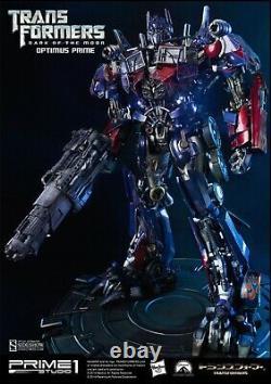 Optimus Prime Dark Side Of The Moon Exclusif! Par Prime 1 Studio Newithunused