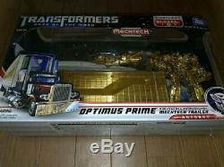 Optimus Prime Transformers 3 Dark Side Lune Mechtech Remorque Limitée 100