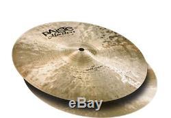 Paiste 5503114 Cymbale De Charleston Sombre De 14 Pouces De La Série Masters De Haute Qualité (paire)