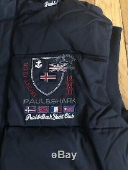 Paul & Shark Yachting Veste Matelassée Bleu Foncé Homme Taille XL Qualité