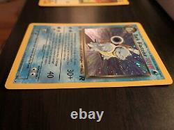 Pokemon Dark Blastoise 1ère Édition Holo Team Rocket 3/82 Qualité Psa