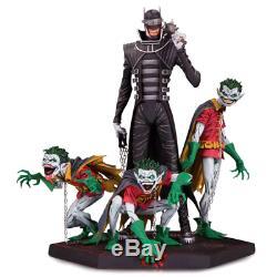 Pre Commande Diamond Select Estatua Resina Batman & Robin Qui Rit Foncé N Minions