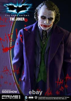 Premier 1 Studio The Dark Knight The Joker 12 Échelle Polystone Statue 1000 Limite