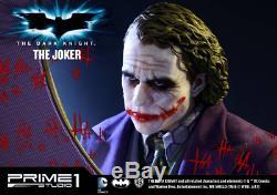 Premier Studio1 The Dark Knight Le Joker Musée Masterline 1/2 Statue Fig Échelle
