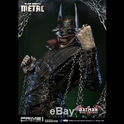 Prime 1 Nuits Sombres Métal Batman Qui Rit Statue Figure Statue Nouveau Scellés