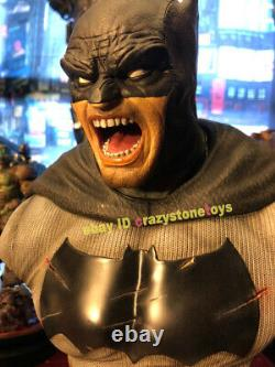 Prime 1 Studio Cdsp-03 Batman The Dark Knight Bust Statue Figurine Retour