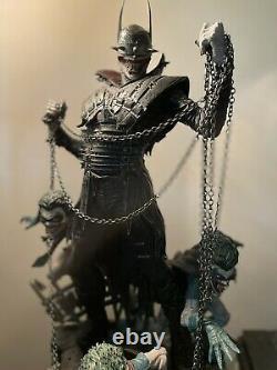 Prime 1 Studio Dark Nights Metalbatman Qui Laughs 13 Statue D'échelle