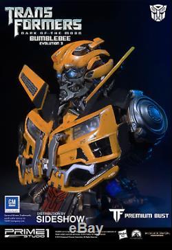 Prime 1 Studio Transformateurs Face Cachée De La Lune Buste Bumblebee Polystone Pbtfm-08