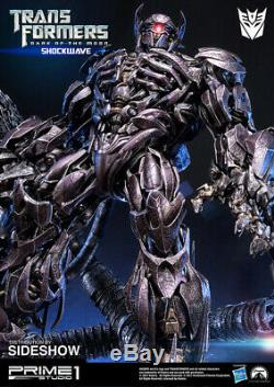 Prime 1 Studio Transformateurs Noir O / T Lune Shockwavepr1 Statua