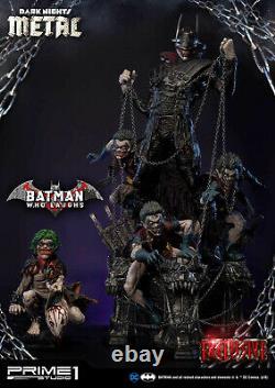 Prime1studio Dark Nights Metal Comics 1/3 Échelle Batman Qui Rire Nouveau