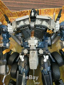 Rare Foncé Optimus Prime Transformateurs De Classe Leader Takara Tomy Originale