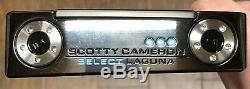 Scotty Cameron 2018 Choisir Laguna Putter New Rh Xtreme Noir Terminer Ihv