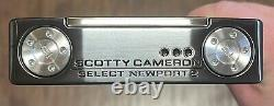 Scotty Cameron 2018 Sélectionnez Newport 2 Putter New Xtreme Dark Finish Vhc