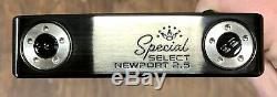 Scotty Cameron 2020 Special Select Newport 2.5 Putter Nouveau Xtreme Fini Noir