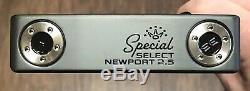 Scotty Cameron 2020 Special Select Newport 2.5 Putter Nouveau Xtreme Noir Terminer