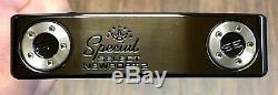 Scotty Cameron 2020 Special Select Newport 2 Putter Lh Nouveau Xtreme Noir DLC