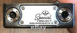 Scotty Cameron 2020 Special Select Squareback 2 Putter Nouveau Xtreme Noir DLC
