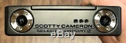 Scotty Cameron Newport 2018 Sélectionnez 2 Putter Nouveau Rh Xtreme Noir Terminer -aho