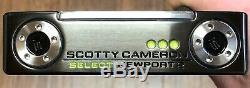 Scotty Cameron Newport 2018 Sélectionnez 2 Putter Nouveau Rh Xtreme Noir Terminer -rss