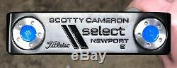 Scotty Cameron Select Putter Newport 2 Nouveau Rh Xtreme Dark Finish Ihi