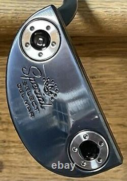 Scotty Cameron Special Select Del Mar Putter Lh -marque Nouveau -xtreme Dark Finish