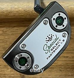 Scotty Cameron Special Select Fastback 1.5 Putter New Xtreme Dark Finish