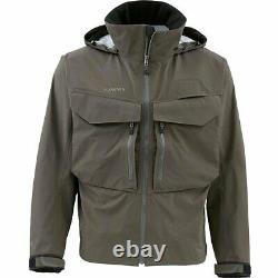 Simms Closeout G3 Guide Jacket Olive Foncée, Tailles Sélectionnées