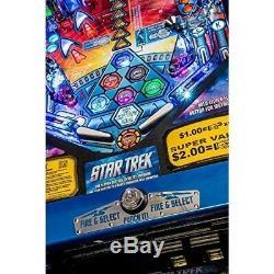 Star Trek In Darkness Machine À Sous Pinball Coinop Avec Livraison Gratuite De Pièce De Choix
