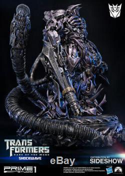 Statue De Shockwave, Prime 1 Studio Transformers, Sombre De La Lune, Nouveau Misb En Main