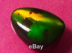 Superbe Bonne Qualité De Roulement De Couleur Foncée Naturelle Naturelle Opale Noire Solide 3 Ctw
