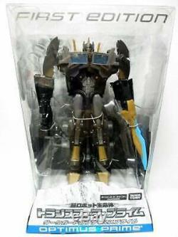 Takara Tomy Transformateurs Première Édition Optimus Prime Garde Noir Exclusif Misb