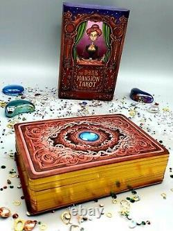 Tarot The Dark Mansion Tarot Deck Taille 4ème Édition Lamination Uv De Haute Qualité