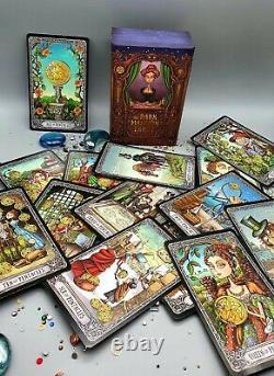 Tarot The Dark Mansion Tarot Deck Taille 4ème Edition Lamination Uv De Haute Qualité
