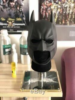 The Dark Knight Masque De Haute Qualité En Caoutchouc Batman Cowl Avec Support Inclus Dar