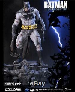 The Dark Knight Returns -premier 1 Statue -sideshow-neuf Dans La Boîte 0140/1500