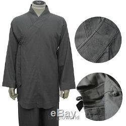 Top Qualité Moine Shaolin Quotidienne Kung Fu Costume De L'agriculture De La Culture Uniformes De Formation