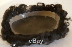 Toupet 8.5x6.5 Pour Hommes, Qualité Supérieure, Base En Monofilament Pour Cheveux Humains
